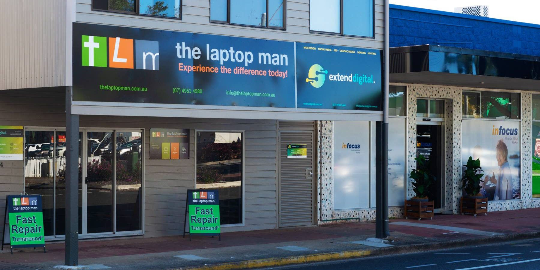 The Laptop Man Experience Difference Today Laptoptech Repair Specialist Spare Parts On July 17 Announced Their Decision To Close Three Stores Announcement Was Met With Shock By Local Community Hundreds